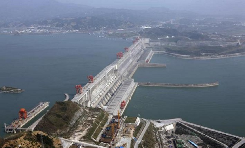 File image of the Three Gorges Dam. Reuters
