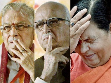 Babri Masjid demolition case What do criminal conspiracy charges imply for Advani Uma Bharti Joshi