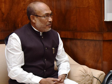Manipur Chief Minister Nongthombam Biren Singh. Image courtesy PIB