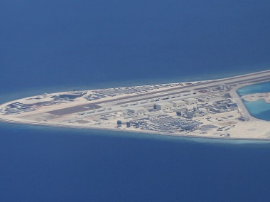 File image of the South China Sea. AFP