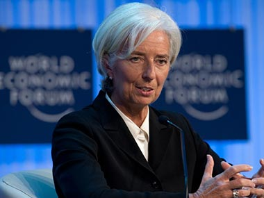 IMF chief Christine Lagarde. AFP