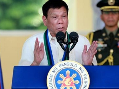 Philippines president Rodrigo Duterte says martial law could last a year