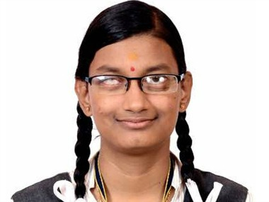 CBSE Board Class 12 Results 2017 declared Tamil Nadus Dharshana MV beats visual disability scores 966