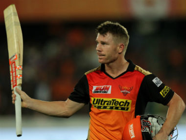David Warner is currently enjoying a purple patch with the bat in the IPL, occupying the top slot in the batting charts. Sportzpics