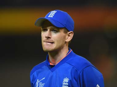 File image of England cricket team captain Eoin Morgan. Getty images