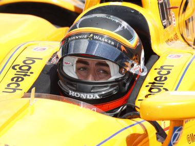 Fernando Alonso feeling better with each lap as he prepares for Indianapolis 500