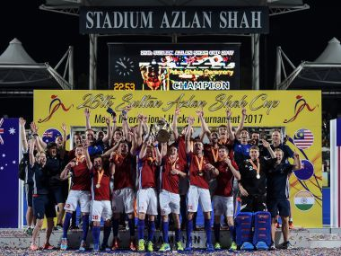 Great britain beat Australia in a thriller to win the 26th Sultan Azlan Shah Cup title. AFP