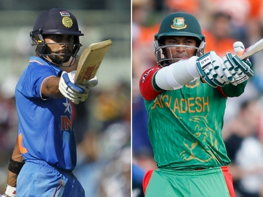 Highlights Champions Trophy 2017 India vs Bangladesh cricket score and updates Kohlis men dismantle Tigers win by 240 runs