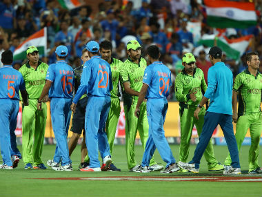 File image of an India-Pakistan match. Getty images