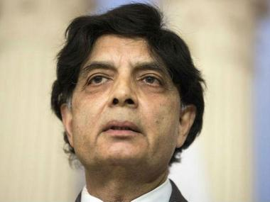 "Nisar Ali Khan assured the Iranian Minister that Pakistan would ""not let anything stand in the way of good relations with Iran"