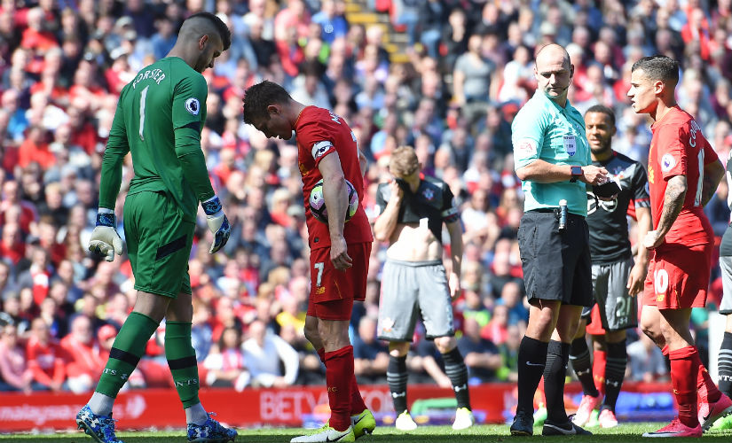 Premier League Liverpool fail to consolidate Champions League spot with goalless draw against Southampton