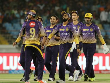 File photo of Kolkata Knight Riders players. Sportzpics