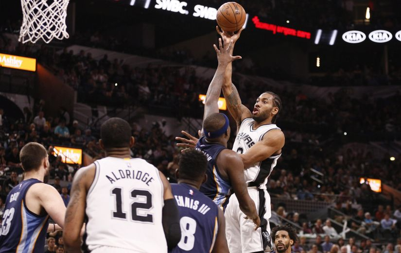 Kawhi Leonard played the best basketball of his life in the first round series versus the Grizzlies, averaging 31.2 points per game. Reuters