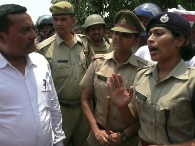 BJP MLA from Gorakhpur publicly tells off lady IPS officer for highhandedness reduces her to tears