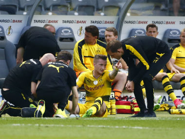 Bundesliga Borussia Dortmunds Marco Reus sidelined for several months with cruciate ligament tear