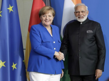 Narendra Modi in Berlin India Germany condemn violence agree to take steps against havens of terrorism