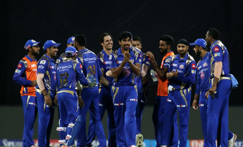 Mumbai Indians' Jasprit Bumrah, Mitchell Johnson and Mitchell McClenaghan produced brilliant bowling, especially in the death overs. Sportzpics