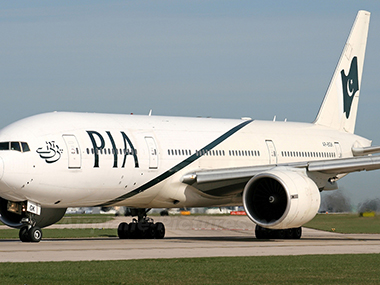 A file image of a PIA aircraft. Image courtesy: PIA website