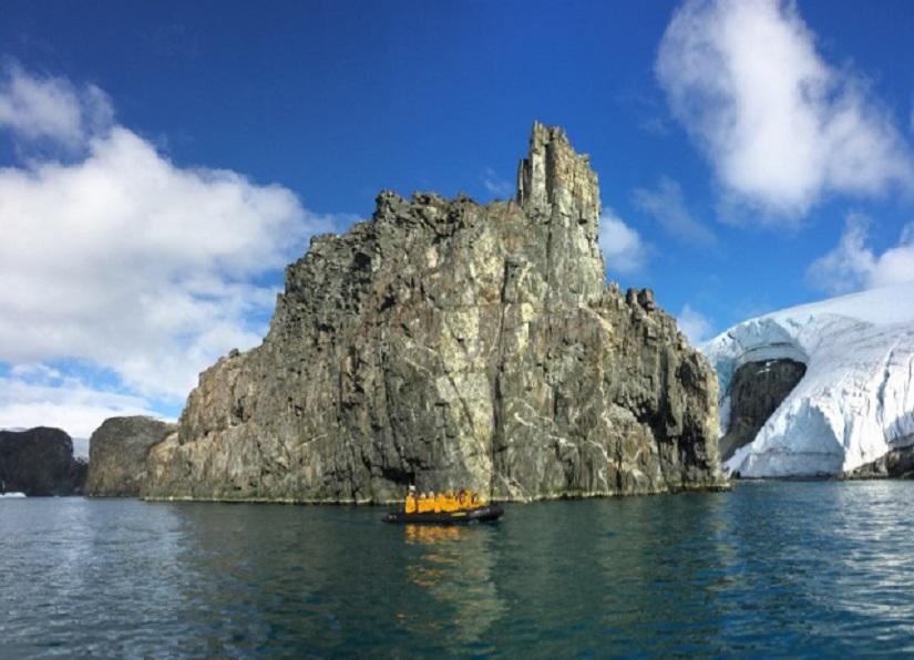 Amazing Geology off the Western Coast of the Antarctic Peninsula