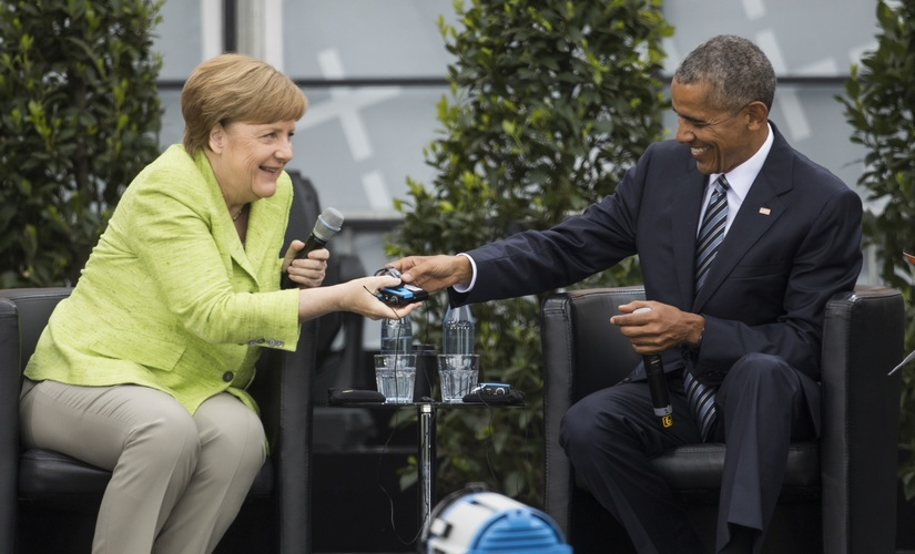 Germany loves rockstar Barack Obama while Donald Trumps faux pas diplomacy continues at NATO