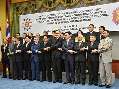 File image from the first round of negotiations for RCEP in Brunei. Getty Images
