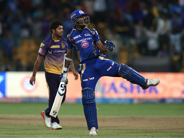 IPL 2017 Mumbai Indians thrash Kolkata Knight Riders in 2nd Qualifier face RPS in final