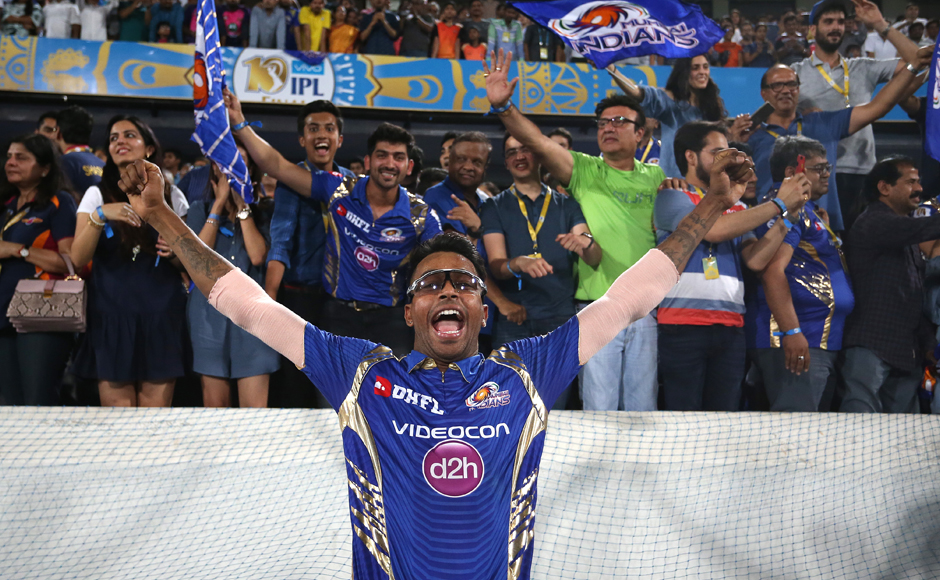 Mumbai Indians claim third IPL title with stunning lastball finish against Rising Pune Supergiant