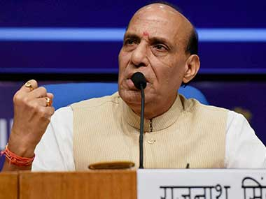 Rajnath Singh asks states to be vigilant against Chinese transgression along SinoIndian border