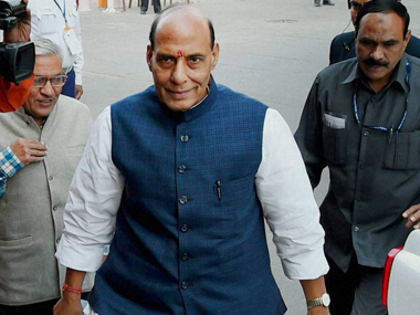 Rajnath Singh says govt is making efforts to resolve Kashmir issue at the earliest