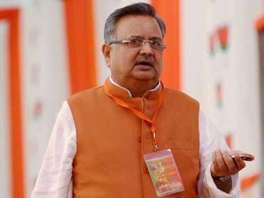 Chopper with Chhattisgarh Chief Minister Raman Singh lands in wrong village