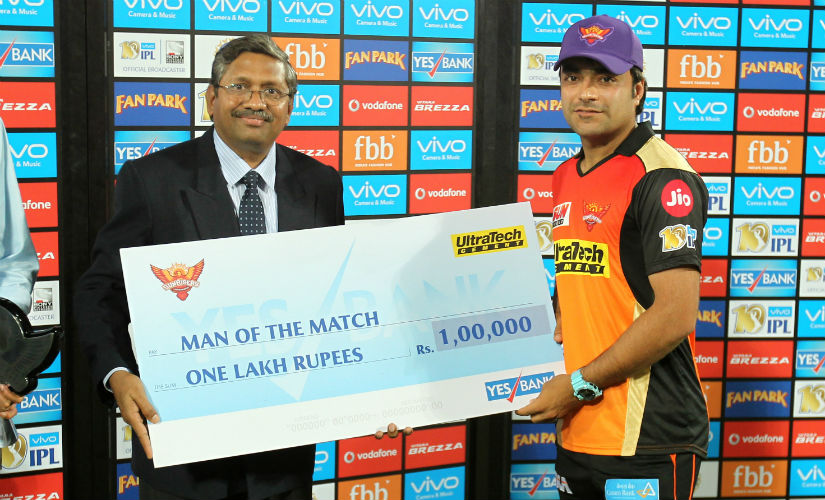 Rashid Khan was one of the pick of the bowlers. AFP