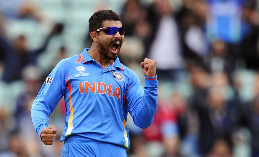 Ravinmdra Jadeja cemented his place in the Indian ODI side with excellent performances in the 2013 Champions Trophy. AFP
