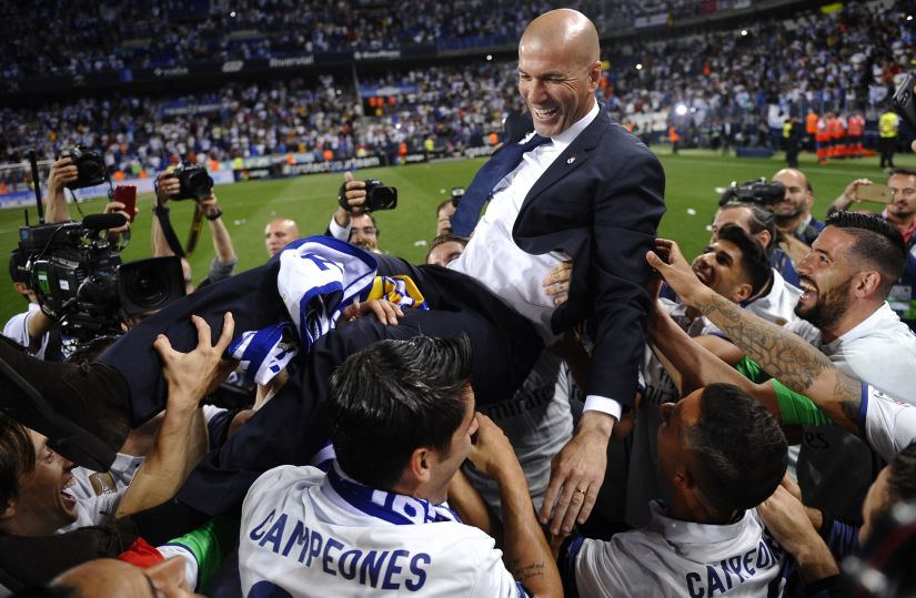 La Liga: Real Madrid's title triumph a result of Zinedine Zidane's tactics and rotation policy