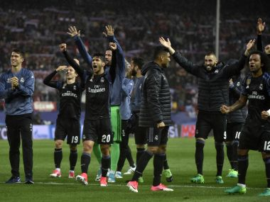 Champions League: Atletico's boisterous first half not enough to stop Real Madrid's shot at making history