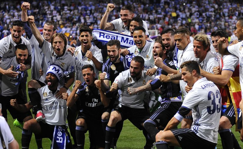 La Liga Real Madrids title triumph a result of Zinedine Zidanes tactics and rotation policy