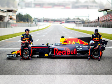 The Red Bull Racing team. Image courtesy: Twitter/@redbullracing