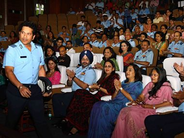 Sachin Tendulkar conducts special screening of his film for Indian Armed Forces personnel