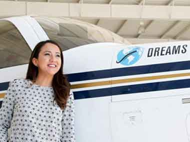 Afghanistans first female certified pilot to become youngest to make solo roundtheworld flight