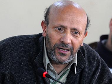 J&K MLA Sheikh-Abdul Rashid. AFP