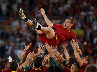 Francesco Totti Roma farewell A creative genius who epitomised loyalty