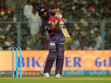 Pune's Rahul Tripathi proved to be the match-winner against Kolkata. Sportzpics