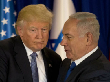 Donald Trump in Israel and Palestine Israeli media pierces through high optics of US presidents visit