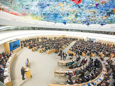 File image of the UNHRC. Image credit: UN website