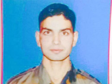 Army officer killed in Kashmir Ummer Fayaz 22 had been commissioned only 5 months ago