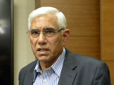COA chairman Vinod Rai says he didn't know Anil Kumble's contract was only for one year