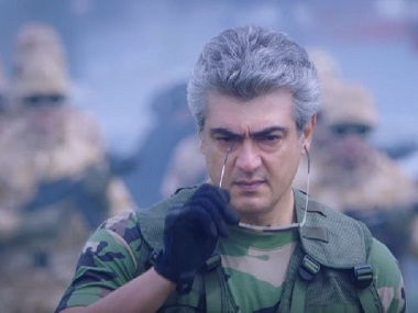 Vivegam: 'Thalai Viduthalai' song from Ajith's film is amalgamation of will power and attitude