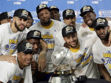 NBA playoffs Stephen Curry Kevin Durant shine as Warriors sweep into third straight Finals