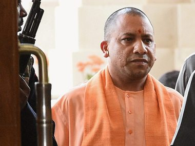 Yogi Adityanath gives soaps to Dalits Congress demands case against UP chief minister demands him to apologise