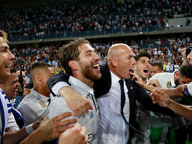 La Liga: Zinedine Zidane hails Real Madrid's title win as 'happiest day of his professional life'