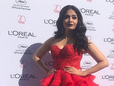 Cannes 2017: Aishwarya Rai Bachchan sparkles in her latest red carpet look